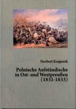 Okładka książki: Polnische Aufständische in Ost- und Westpreußen (1831-1833)