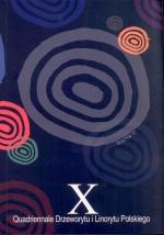 Okładka książki: [Dziesiąte] X Quadriennale Drzeworytu i Linorytu Polskiego