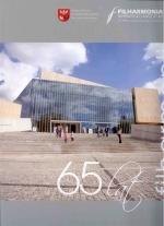 Okładka książki: [Sześćdziesiąt pięć] 65 lat filharmonii