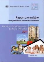 Okładka książki: Raport z wyników w województwie warmińsko-mazurskim