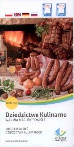 Okładka książki: Dziedzictwo Kulinarne Warmia Mazury Powiśle