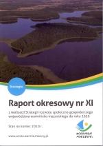 Okładka książki: Raport okresowy nr XI z realizacji Strategii rozwoju społeczno-gospodarczego województwa warmińsko-mazurskiego do roku 2020