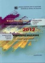 Okładka książki: Województwo Warmińsko-Mazurskie 2012