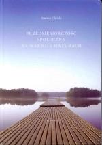 Okładka książki: Przedsiębiorczość społeczna na Warmii i Mazurach