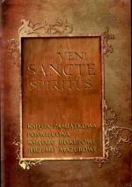 Okładka książki: Veni sancte spiritus