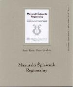Okładka książki: Mazurski śpiewnik regionalny
