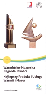 Okładka książki: Warmińsko-Mazurska Nagroda Jakości