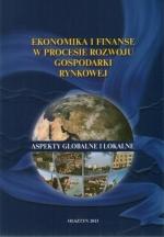 Okładka książki: Ekonomika i finanse w procesie rozwoju gospodarki rynkowej
