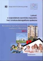 Okładka książki: Ludność w Województwie Warmińsko-Mazurskim