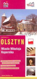 Okładka książki: Odkryj Olsztyn miasto Mikołaja Kopernika