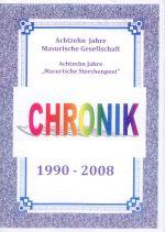 Okładka książki: Chronik 1990-2008