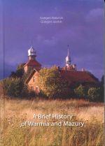 Okładka książki: A brief history of Warmia and Mazury