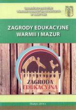 Okładka książki: Zagrody edukacyjne Warmii i Mazur