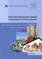 Okładka książki: Aktywność ekonomiczna ludności w województwie warmińsko-mazurskim