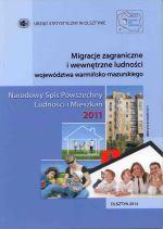 Okładka książki: Migracje zagraniczne i wewnętrzne ludności województwa warmińsko-mazurskiego