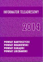 Okładka książki: Informator teleadresowy 2014