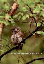 Okładka książki: Natura 2000 w powiecie gołdapskim