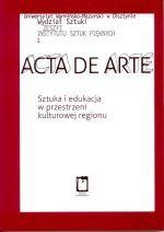 Okładka książki: Sztuka i edukacja w przestrzeni kulturowej regionu