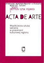 Okładka książki: Współczesna sztuka sakralna w przestrzeni kulturowej regionu