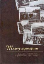 Okładka książki: Mazury zapamiętane