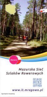 Okładka książki: Mazurska Sieć Szlaków Rowerowych