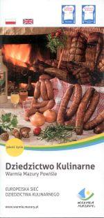 Okładka książki: Dziedzictwo Kulinarne Warmia, Mazury, Powiśle. Europejska Sieć Dziedzictwa Kulinarnego. - Wyd. 7. - [Stare Babice]