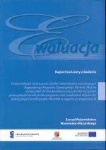 Okładka książki: Ocena trafności i skuteczności działań informacyjno-promocyjnych Regionalnego Programu Operacyjnego Warmii i Mazur na lata 2007-2010 w kontekście potrzeb informacyjnych potencjalnych beneficjentów programu oraz zwiększenia aktywności potencjalnych beneficjentów PRO WiM w sięganiu po wsparcie UE