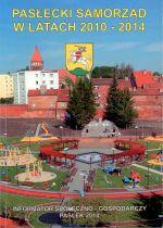 Okładka książki: Pasłęcki Samorząd w latach 2010-2014