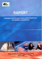 Okładka książki: Raport z badania pilotażowego