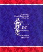 Okładka książki: [Piętnaście] 15 lat UWM