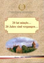 Okładka książki: [Dwadzieścia] 20 lat minęło...