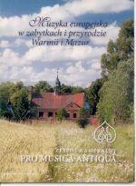 Okładka książki: Muzyka europejska w zabytkach i przyrodzie Warmii i Mazur