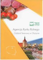 Okładka książki: Agencja Rynku Rolnego
