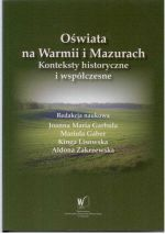 Okładka książki: Oświata na Warmii i Mazurach