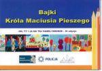 Okładka książki: Bajki Króla Maciusia Pieszego