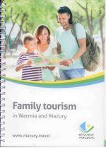 Okładka książki: Family tourism in Warmia and Mazury. - Olsztyn
