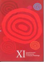 Okładka książki: [Jedenaste] XI Quadriennale Drzeworytu i Linorytu Polskiego