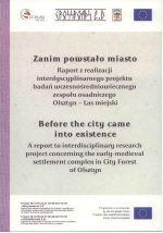 Okładka książki: Zanim powstało miasto