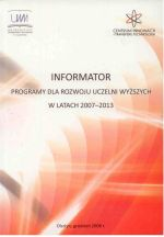 Okładka książki: Informator