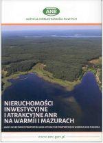 Okładka książki: Nieruchomości inwestycyjne i atrakcyjne ANR na Warmii i Mazurach