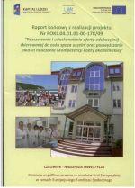 Okładka książki: Raport końcowy z realizacji projektu nr POKL.04.01.01-00-178/09
