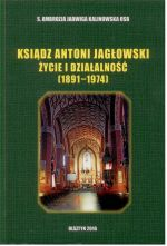 Okładka książki: Ksiądz Antoni Jagłowski