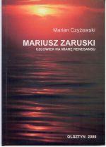 Okładka książki: Mariusz Zaruski - człowiek na miarę renesansu