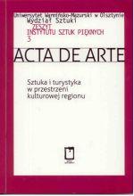 Okładka książki: Sztuka i turystyka w przestrzeni kulturowej regionu