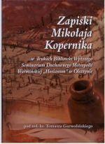 Okładka książki: Zapiski Mikołaja Kopernika