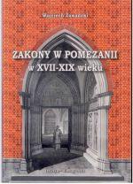 Okładka książki: Zakony w Pomezanii w XVII-XIX wieku