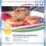 Okładka książki: Dziedzictwo Kulinarne Warmia, Mazury, Powiśle