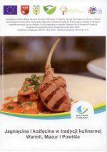 Okładka książki: Jagnięcina i koźlęcina w tradycji kulinarnej Warmii, Mazur i Powiśla