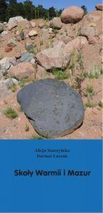 Okładka książki: Skały Warmii i Mazur