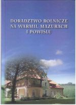 Okładka książki: Doradztwo rolnicze na Warmii, Mazurach i Powiślu